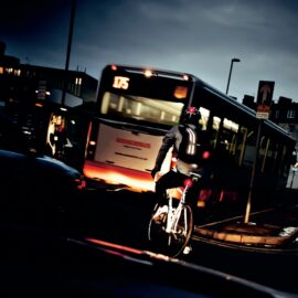Cycle safely in the dark