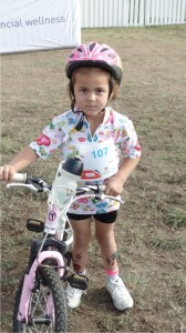 Kiddies cycling kit